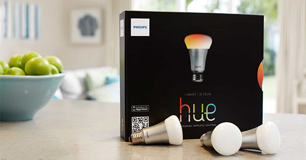 An expensive Philips Hue starter pack